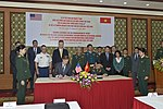 United States and Vietnam Sign Memorandum of Intent to Begin Dioxin Remediation at Bien Hoa (28073071009).jpg