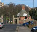 University of Birmingham Lodge Gate and Wall Bristol Road.JPG