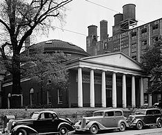 University of Maryland, Medical Building (Davidge Hall) in July, 1936