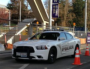Campus police - University of Washington Police Car