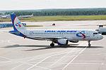 Ural Airlines, VP-BBQ, Airbus A320-214 (21354837212).jpg