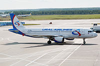 VP-BBQ - A320 - Ural Airlines