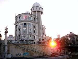 Max Fabiani - Urania Palace in Vienna