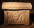 Urnette della collezione bargagli petrucci, 08 testa di gorgone alata.jpg