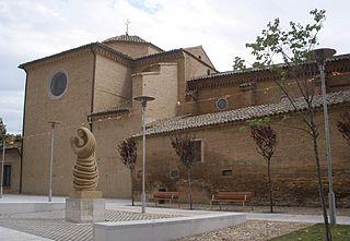 Utebo Place in Aragon, Spain