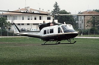HMX-1 - VH-1N with President Ronald Reagan at G7 in Italy in 1987