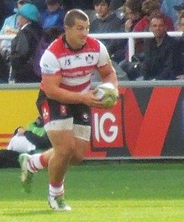 Val Rapava-Ruskin Georgian rugby union player