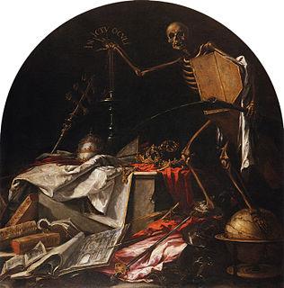 <i>In Ictu Oculi</i> (Valdés Leal) painting by Juan de Valdés Leal