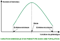 Variation phénotypique Courbe unimodale.PNG