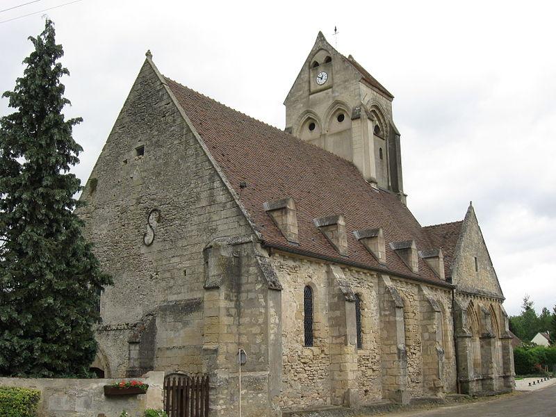 Église Notre-Dame-de-la-Nativité de Varinfroy. (département de l'Oise, région Picardie).