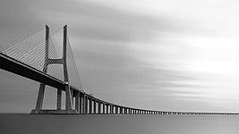 Vasco da Gama Bridge B&W (crop2).jpg