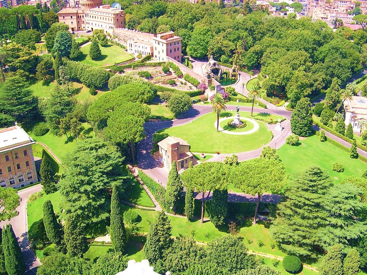 Jardins do vaticano wikip dia a enciclop dia livre for Los jardines de arbesu