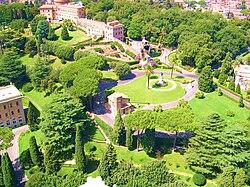 jardines de la ciudad del vaticano