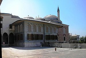 Kafes - The apartments of the Crown Prince in the Topkapı Palace, which was also called kafes