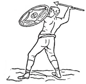 Velites - A Veles in combat