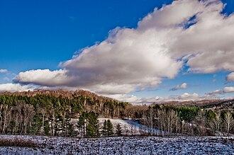 Vermont - Vermont winter landscape