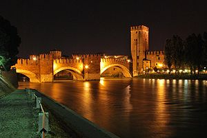 Verona - Ponte di Castelvecchio