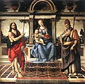 Verrocchio Madonna with Saint John the Baptist and Donatus 1475 1483.jpg
