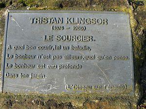 Tristan Klingsor - Image: Vers Tristan Klingsor