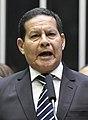 Vice-presidente da República, general Hamilton Mourão, lê compromisso constitucional (cropped) (cropped).jpg