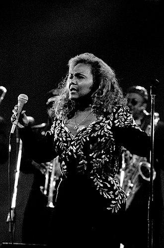 Vicki Anderson - Anderson performing in 1998