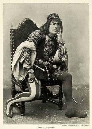 Victor Maurel - Baritone Victor Maurel, the first Iago in Verdi's Otello