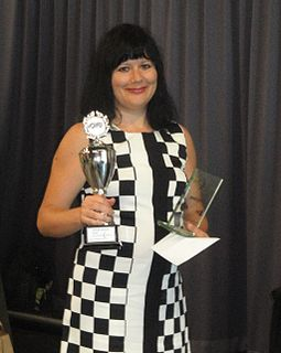Vitalia Doumesh Dutch draughts player