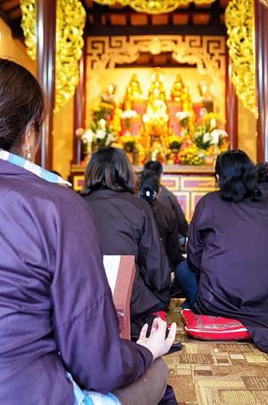 Vietnamese people in Poland - Vietnamese Buddhists in Praga