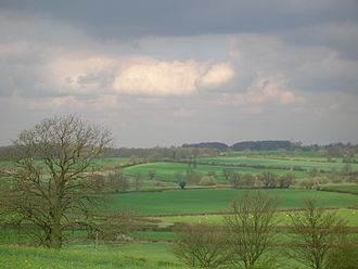 James Harrington (Yorkist knight) - View from Ambion Hill, traditionally Richard III's position at the Battle of Bosworth