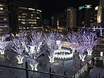 View in front of Hakata Station at night 20181213-5.jpg