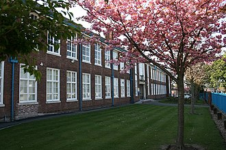 Wirral Grammar School for Boys - View of Wirral Grammar School for Boys