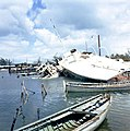View of destruction from Hurricane Betsy at the Key West Yacht Club- Key West, Florida (3675533482).jpg