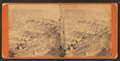 View of people climbing the cliff, from Robert N. Dennis collection of stereoscopic views.png
