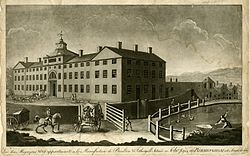 View of the manufactory of Boulton & Fothergill in Birmingham by Francis Eginton 1773.jpg