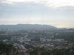 Skyline of Sungai Ara