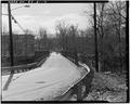 View southwest, roadway - Albion Bridge, School Street, Spanning Blackstone River, Cumberland, Providence County, RI HAER RI,4-CUMB,4-4.tif