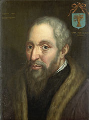 Portrait of Viglius ab Zuichemus, Frisian Jurist, President of the Privy Council and Member of the Council of State