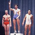 Viktor Kurentsov, Hans Zdražila, Masashi Ouchi 1964.jpg