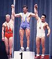 Viktor Kurentsov, Hans Zdražila, Masashi Ouchi 1964b.jpg