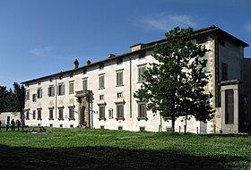 La sede dell'Accademia della Crusca (foto da Wikipedia)