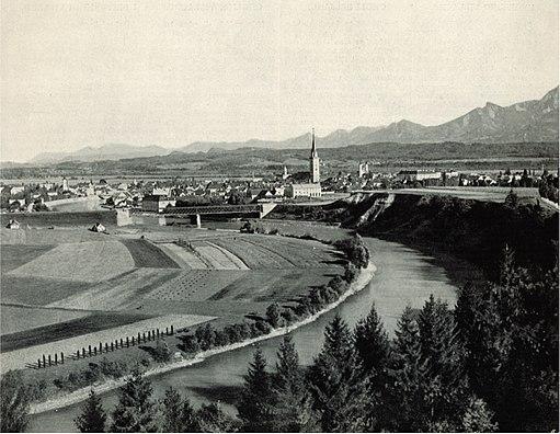 Villach um 1898