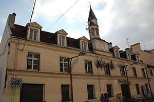 Villeparisis - The town Hall of Villeparisis