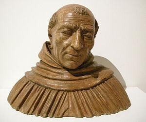Albertus Magnus - Bust of Albertus Magnus by Vincenzo Onofri, c. 1493