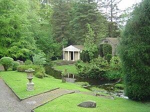 Vindolanda - Gardens outside the museum