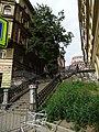 Vinohrady, U Zvonařky, schodiště, z Bělehradské.jpg