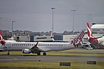 Virgin Australia (VH-ZPT) Embraer ERJ-190AR taking off at Sydney Airport.jpg