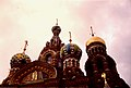 Visiting St Petersburg, July 1996 - Church of the Saviour on the Blood Domes.jpg