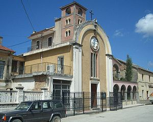 Christianity in Albania - Catholic church in Vlorë.