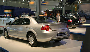 GAZ Volga Siber - Rear view