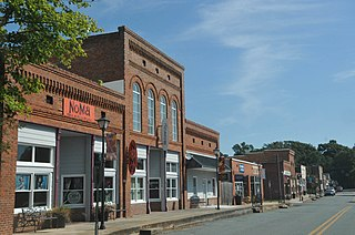 Waxhaw Historic District United States historic place